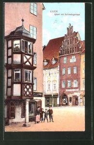 AK Eger, Stöckl mit Schirndingerhaus