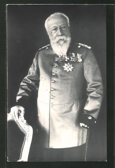 AK Grossherzog von Baden in Uniform mit Orden