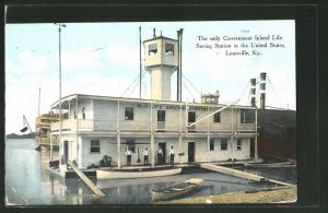 AK Louisville, KY, The only Government Inland Life Saving Station in the United States