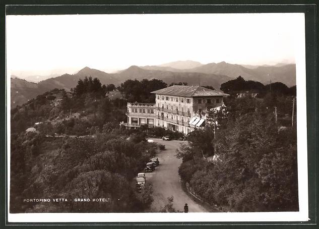AK Portofino Vetta, Blick zum Grand Hotel