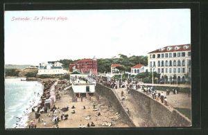 AK Santander, La Primera playa