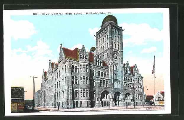 AK Philadelphia, PA, Boy's Central High School