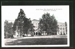 AK Montevallo, AL, Front View, the Dormitory
