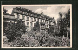 AK Kyllburg-Eifel, Teilansicht vom Hotel Eifeler Hof