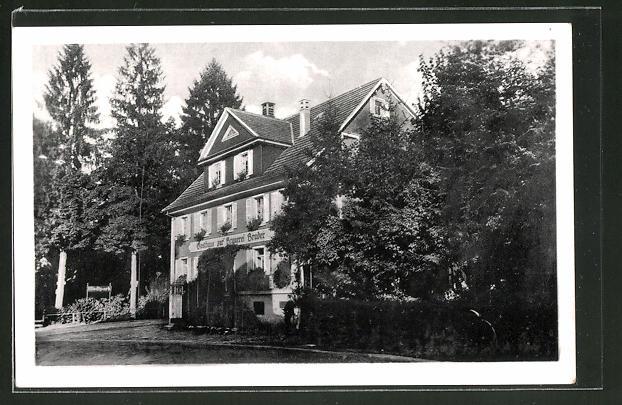 AK Oppenau / Schwarzwald, Gasthaus zur Brauerei Bruder
