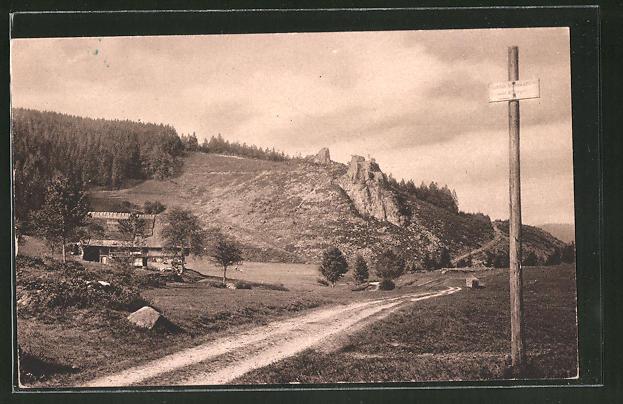AK Oberkirch, Partie am Steinhof