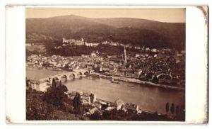 Fotografie L. Meder, Heidelberg, Ansicht Heidelberg, Panorama