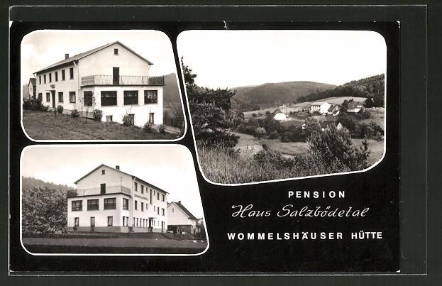 AK Wommelshäuser-Hütte, Pension Haus Salzbödetal