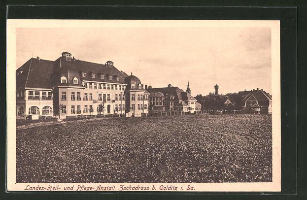 AK Zschadrass i. Sa., Landes-Heil- und Pflege-Anstalt