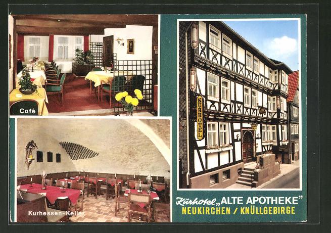 AK Neukirchen / Knüllgebirge, Kurhotel