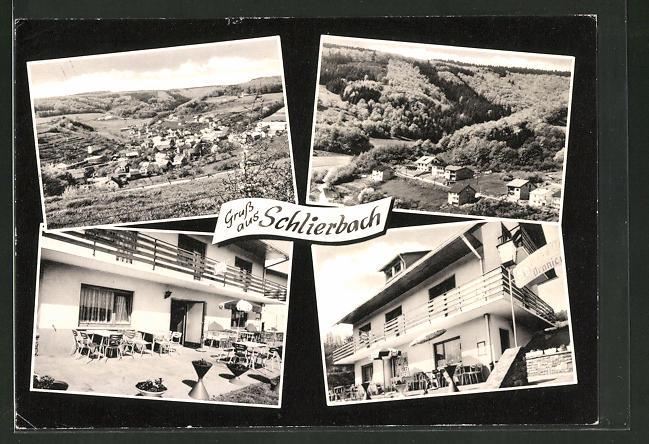 AK Schlierbach / Biedenkopf, Terrassencafé & Pension
