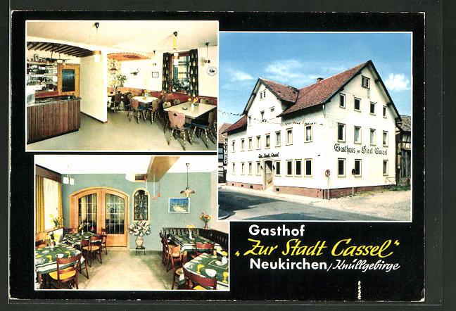 AK Neukirchen / Knüllgebirge, Gasthaus