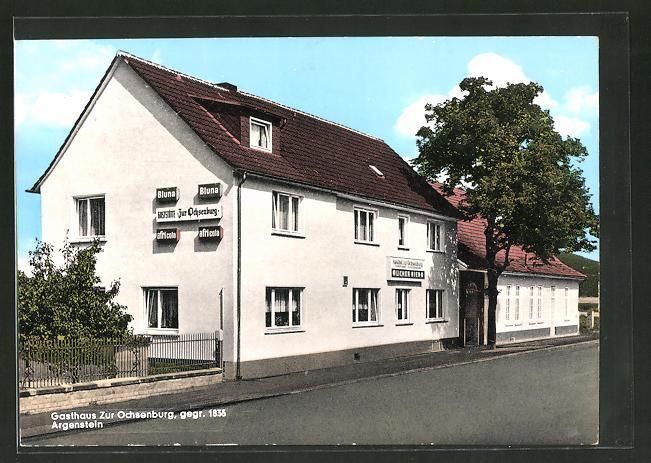 AK Argenstein, Gasthaus Ochsenburg