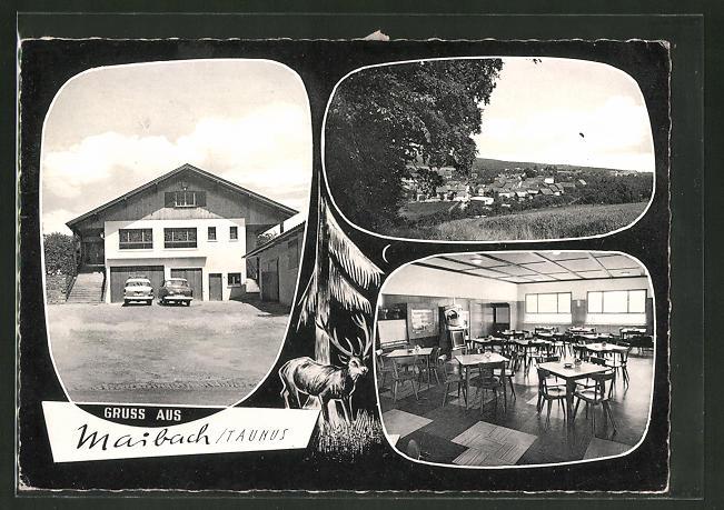 AK Maibach / Taunus, Gasthaus