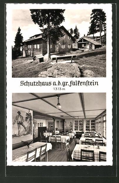 AK Zwiesel, Schutzhaus Falkensteinhaus des B. W. V.