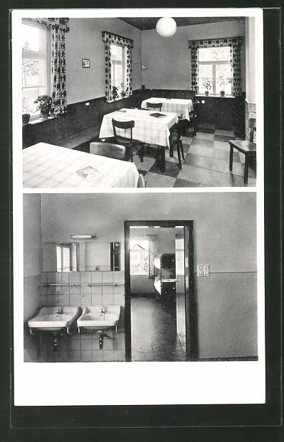 AK Lich / Obh., Carl Heinrich Rappards Freizeit-Heim, Gasthaus 0