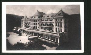 AK Bad Kreuznach, Vorderansicht vom Kurhaus & Palasthotel