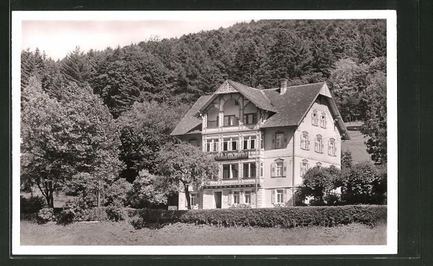 AK Herrenalb, Hotel-Fremdenheim Villa Gerwig, Bes. Geschw. Gerwig