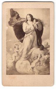 Fotografie unbekannter Fotograf und Ort, Gemälde von B. E. Murillo, Madonna von Sevilla