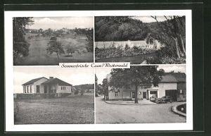 AK Caan / Westerw., Privat-Pension Wirth, Ortspartien