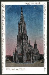 Luna-AK Ulm, Blick aufs Münster