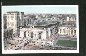 AK New York, NY, New Grand Central Terminal, Bahnhof