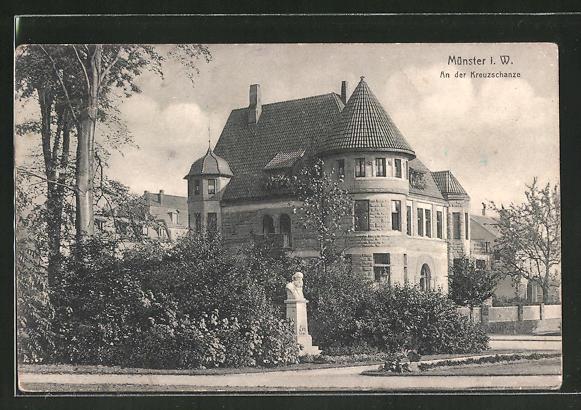 AK Münster i. W., An der Kreuzschanze