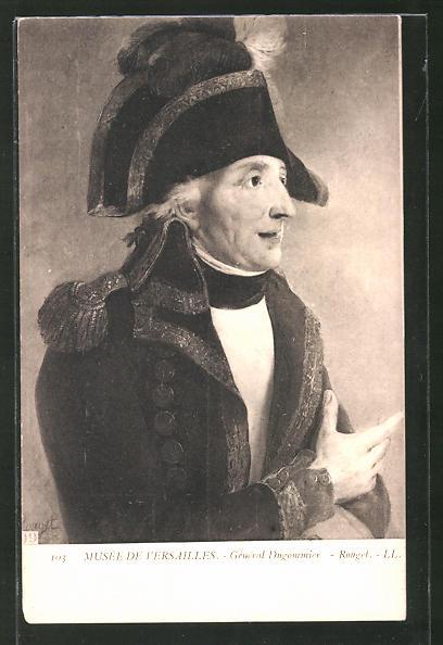 AK Portrait General Dugommier, französische Revolution
