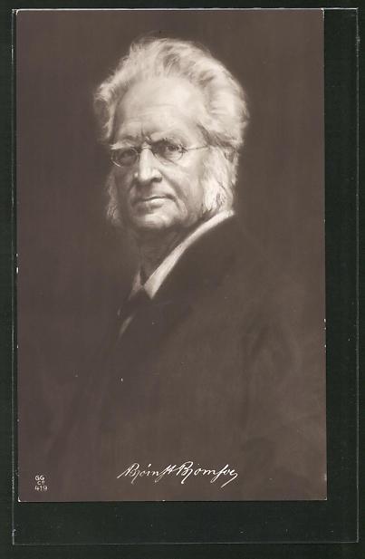 AK Portrait des Dichters Björnstjerne Björnson