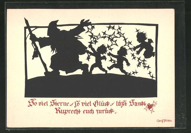 Künstler-AK Georg Plischke: