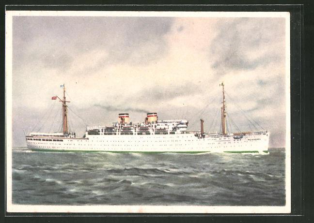 AK Passagierschiff Milwaukee auf hoher See