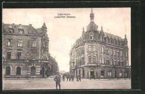 AK Saarlouis, Hotel-Restaurant Kaiserhof in der Lisdorfer Strasse