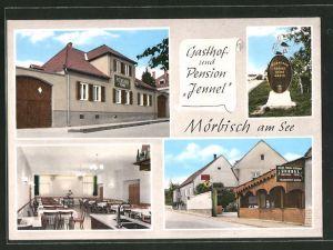 AK Mörbisch a. See, Gasthaus & Pension