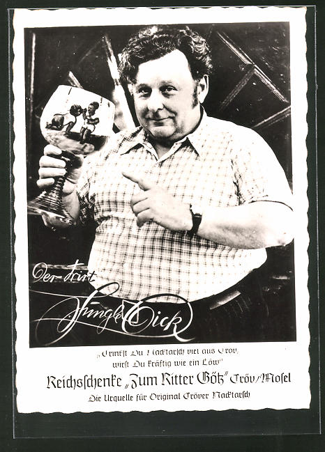 AK Cröv / Mosel, Gasthaus-Reichsschenke