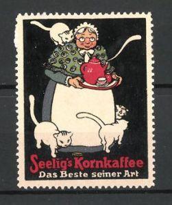 Reklamemarke Seelig's Kornkaffee,