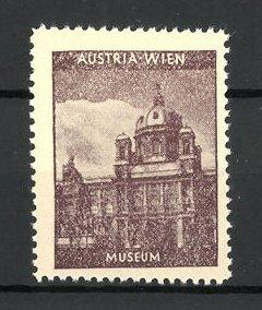 Reklamemarke Serie: Austria-Wien, Museum