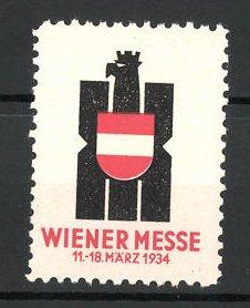 Reklamemarke Wien, Wiener Messe 1934, Messelogo