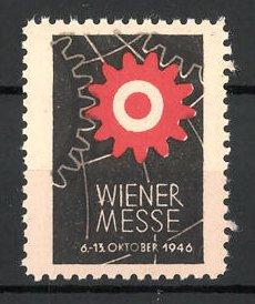Reklamemarke Wien, Wiener Messe 1946, Messelogo