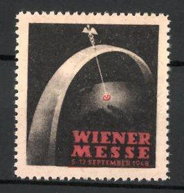 Reklamemarke Wien, Wiener Messe 1948, Messelogo