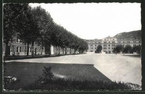 AK Nice, Quartier Saint-Jean-d'Angély, Bataillon de Chasseurs Alpins