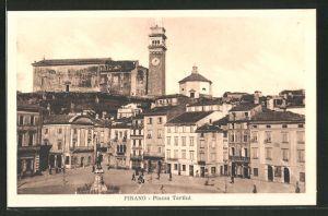 AK Pirano, Piazza Tartini