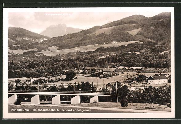 AK Achenmühle, Reichsautobahn München-Landesgrenze