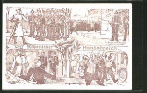 AK Berlin, Der Köpenicker Handstreich, Hauptmann von Köpenick