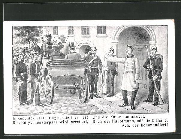 AK Berlin, Hauptmann von Köpenick: