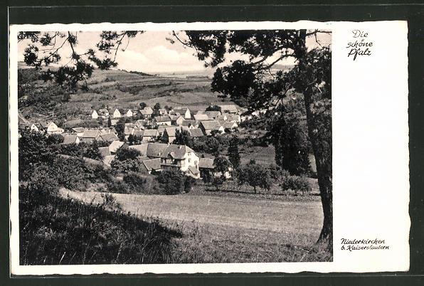 AK Niederkirchen / Pfalz, Panorama