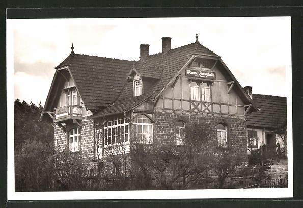 AK Waldleiningen, Blick zum Waldhaus Schmid