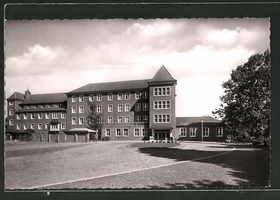 AK Dülmen / Westf., Blick zum Franz-Hospital