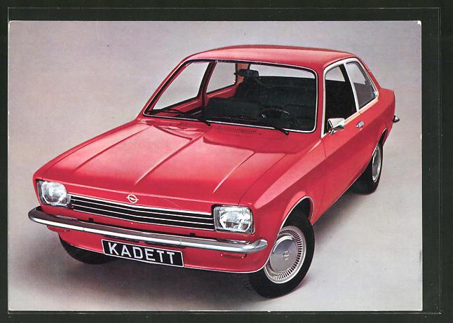 AK Reklame Opel Kadett