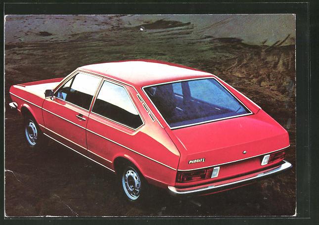 AK Passat, die Formel für schöneres Fahren, Volkswagen