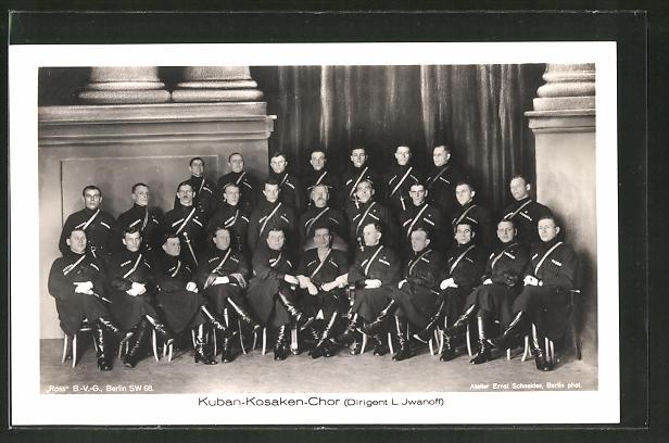 AK Kuban-Kosaken-Chor, Dirigent L. Jwanoff